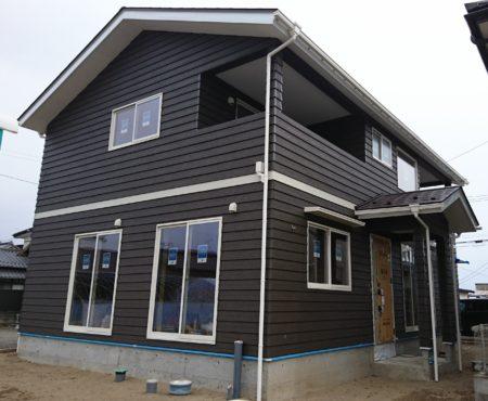 S様邸新築工事竣工しました。