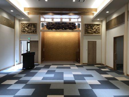 長泉寺多目的ホール新築工事竣工しました