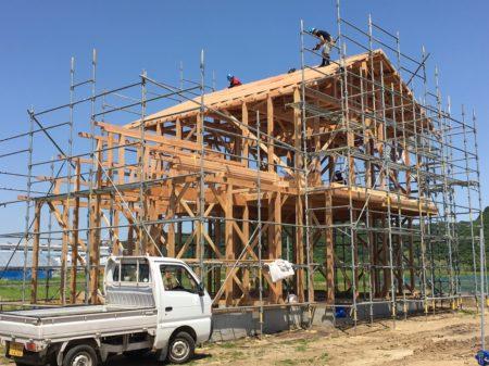 K様邸新築工事上棟式