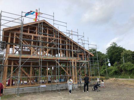 S様邸新築工事上棟式