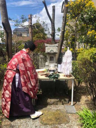 御稲荷神社春祭り