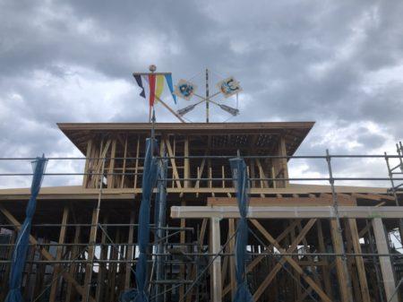 M様邸新築工事上棟式